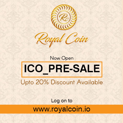 Royalcoin digital currency in india