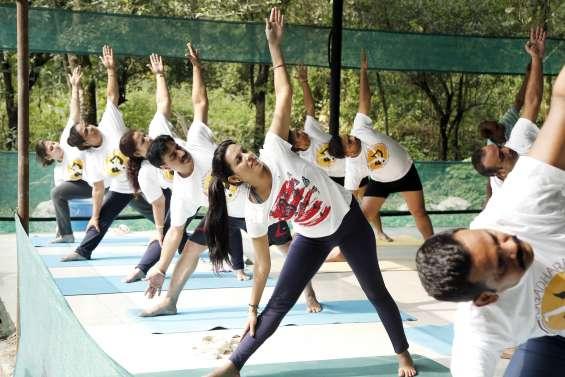 Spiritual yoga retreats india