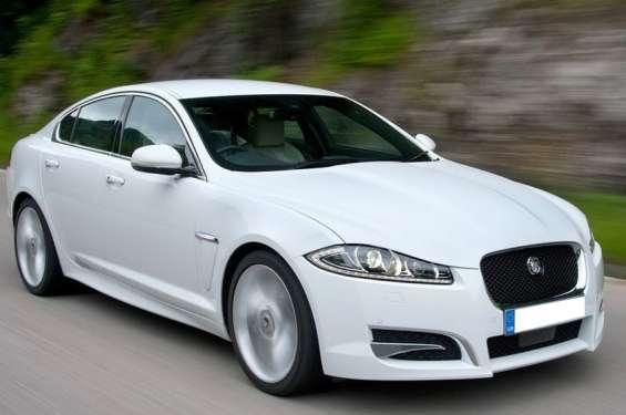 Jaguar xf car hire jaipur