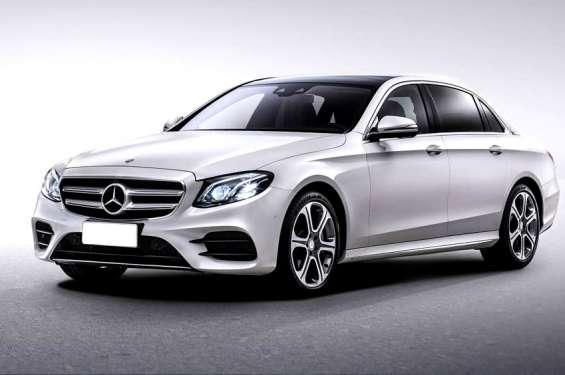 Mercedes e class car hire jaipur