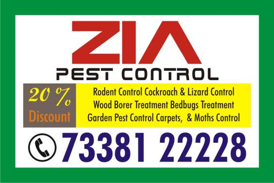 Zia pest control service 826 | 7338122228 | office | apartments | hospitals