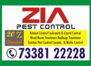Zia Pest Control Service 826 | 7338122228 | Office | Apartments | Hospitals